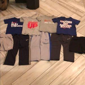 Boys Nike T-Shirts and Pants